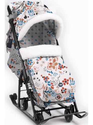 Санки-коляска Ника Детям 7-5