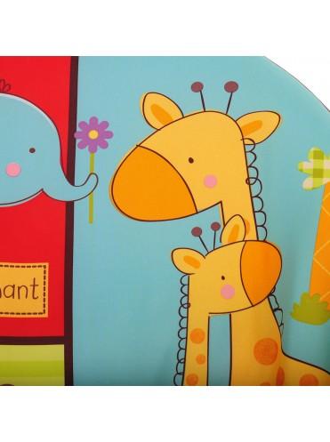 Детский шезлонг Pituso Peach Жирафик