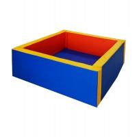 Сухой бассейн квадратный (мягкое дно 50 мм)