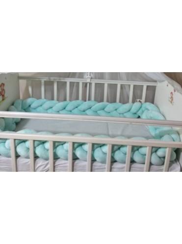 Бортик в детскую кроватку Косичка 3,6м