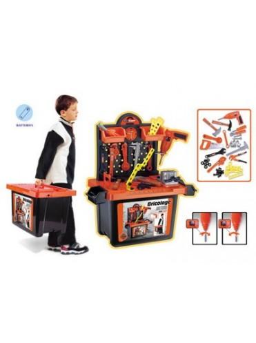 Игровой набор XIONG CHENG Мастерская в чемодане 56008
