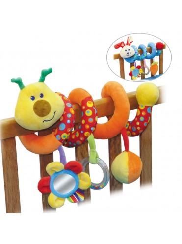 Игрушка-пружинка на кровать