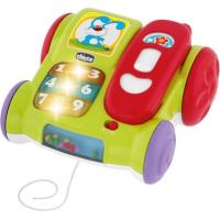 Игрушка музыкальная Chicco Телефон с колесиками