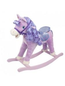 Детская мягкая качалка Пони 2036