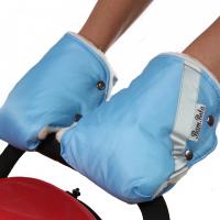 Муфты-варежки для коляски BAMBOLA 055В (шерстяной мех+плащевка)