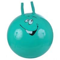 Надувной мяч-прыгун Смайлик 45 см + насос