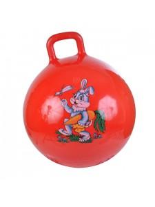 Надувной мяч-прыгун Зайка 45 см + насос
