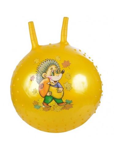 Надувной мяч-прыгун Ёжик 38 см + насос