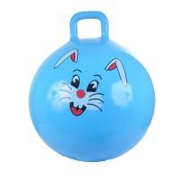 Надувной мяч-прыгун Зайчик 55 см + насос