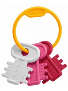 Игрушка развивающая Chicco Ключи на кольце