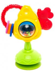 Игрушка для стульчика Chicco Мышка с сыром