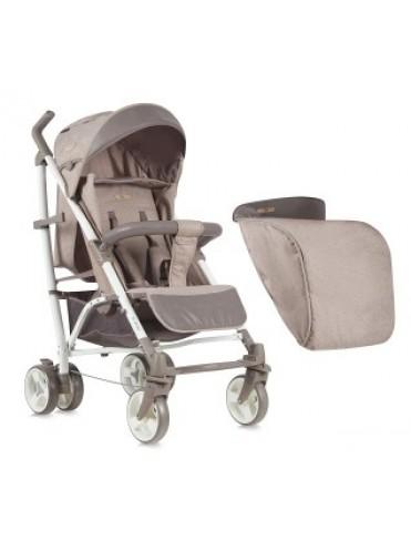 Детская коляска-трость Lorelli S-200 + накидка на ножки