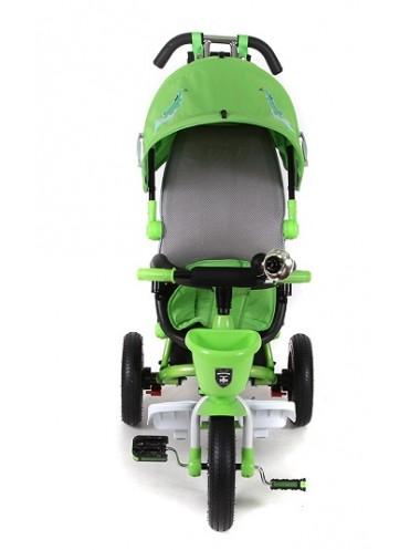 Трехколесный велосипед с ручкой MINI TRIKE ANIMALS SPORT collection 960 надувные колеса