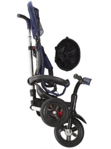 """Велосипед трёхколёсный Micio Compact Air 2017, надувные колёса 10""""/8"""""""