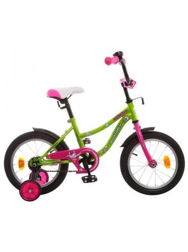 """Велосипед детский 14"""" NEPTUNE САЛАТОВЫЙ 60732"""