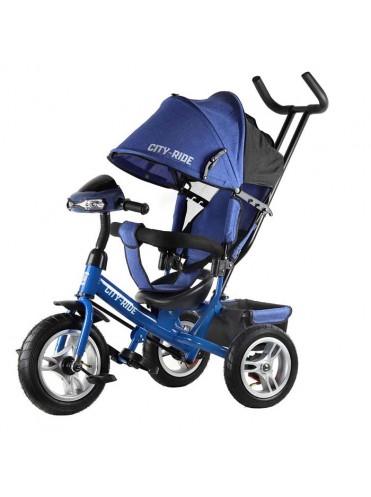 Детский трехколесный велосипед City-Ride (надувные колеса)
